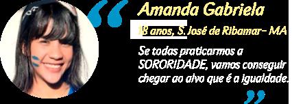 Depoimento Amanda