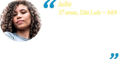 Depoimento Julia